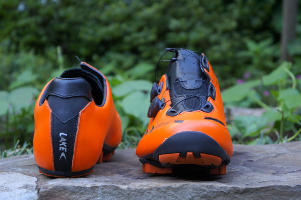 Chaussure Lake MX237 Orange/Noir